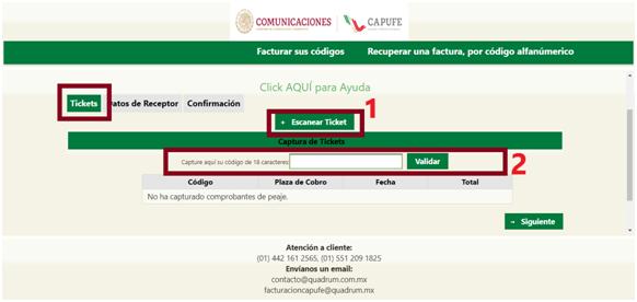 FIGURA 2. CAPTURA DE COMPROBANTES